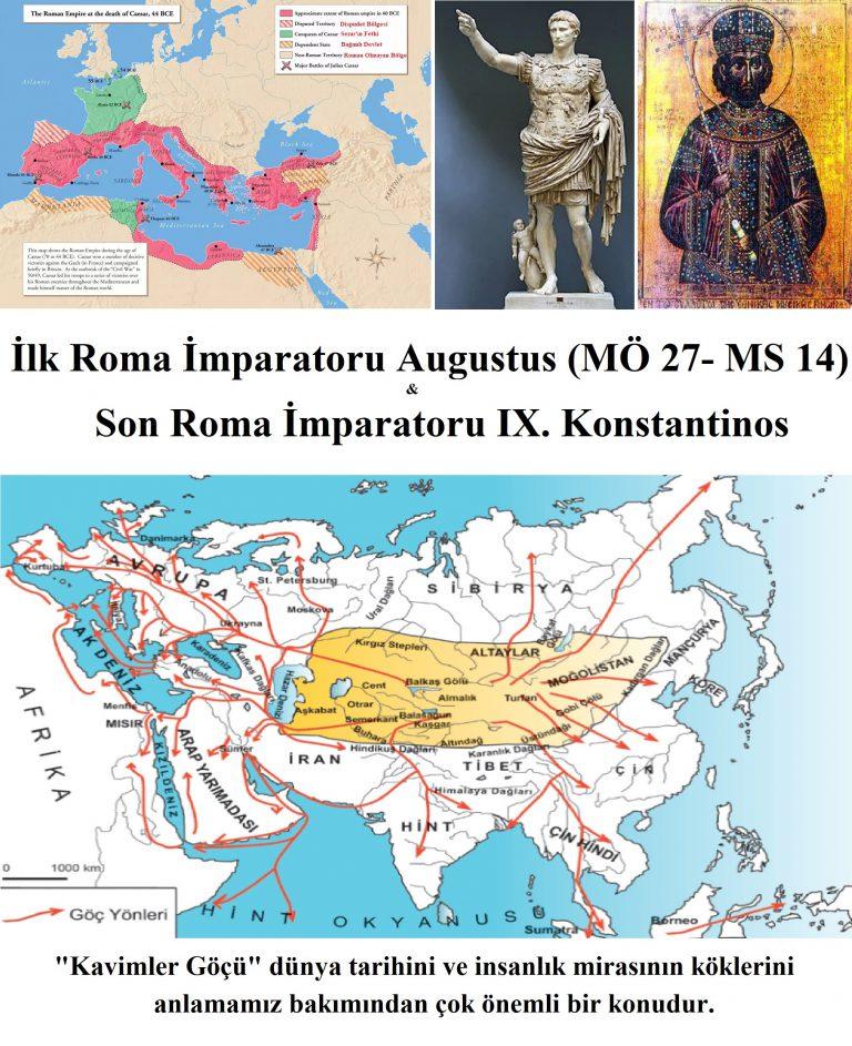 Roma İmparatorluğu Yönetim Şekli ve Sınırları