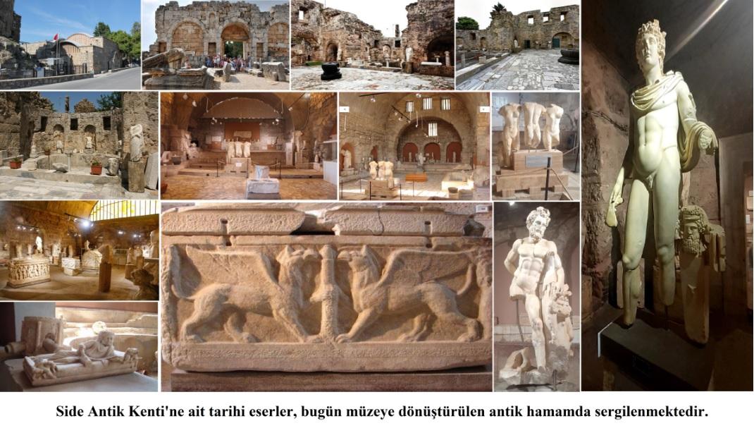 Side Antik Kenti Hamamı ve Müzesi