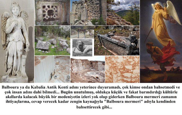 Balboura/Kabalia Antik Kenti – Likya Uygarlığı