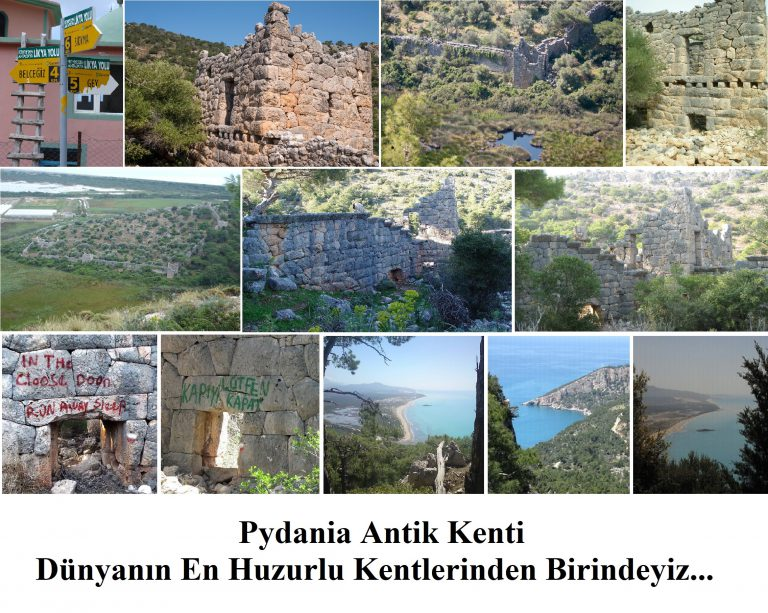 Pydania/Kydnaia Antik Kenti / Bel Köyü – Gavurağılı – Ge Köyü / Likya Yolu