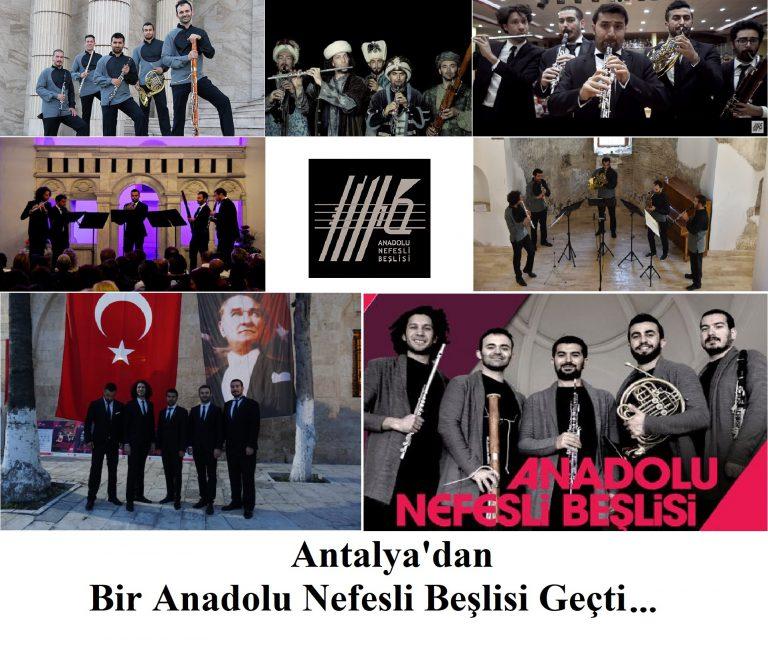 """Zamanın En İyi Beş Usta Üflemeli Sanatçısı """"Anadolu Nefesli Beşlisi"""""""