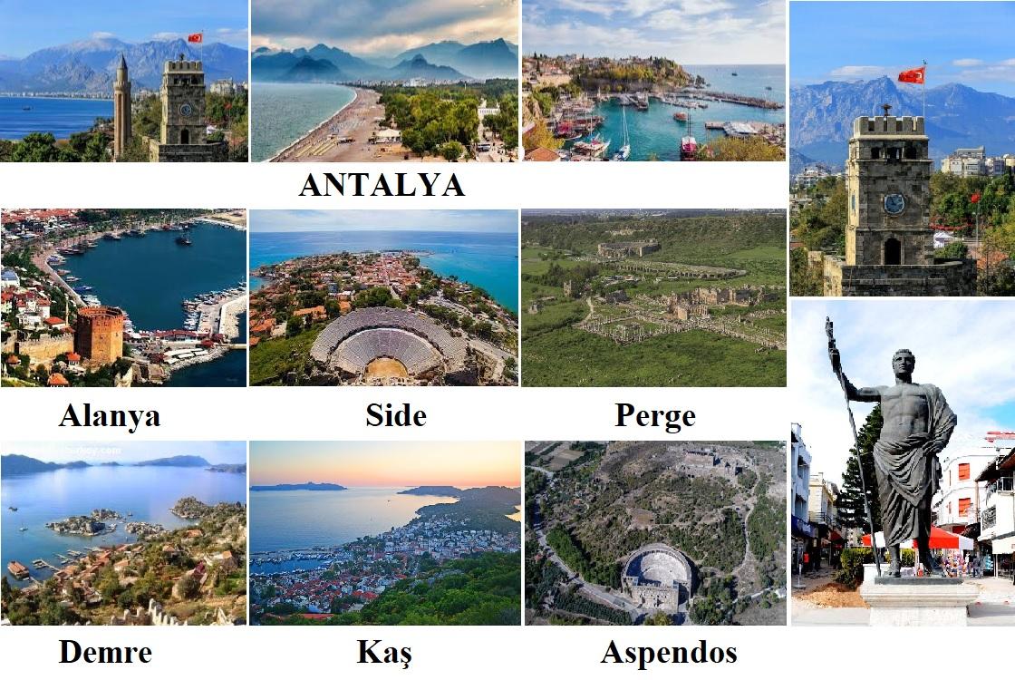Antalya Anadolu'nun En Eski Yerleşim Yeri / Türkiye