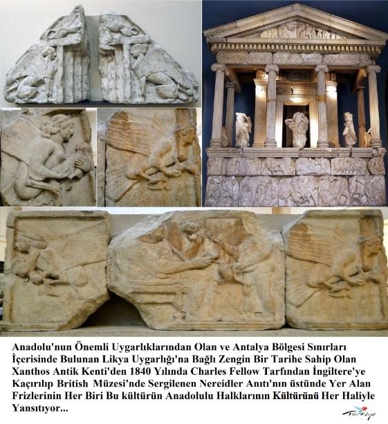 Nereidler Anıtı'nın Frizleri / Likya Birliği
