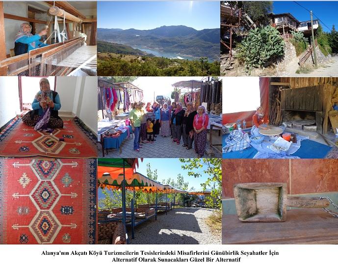 Akçatı Köyü'nün Yetenekli Kadınları / Alanya
