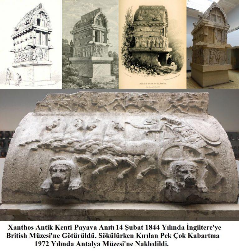 Xanthos Antik Kenti Payava Anıtı / Likya Birliği