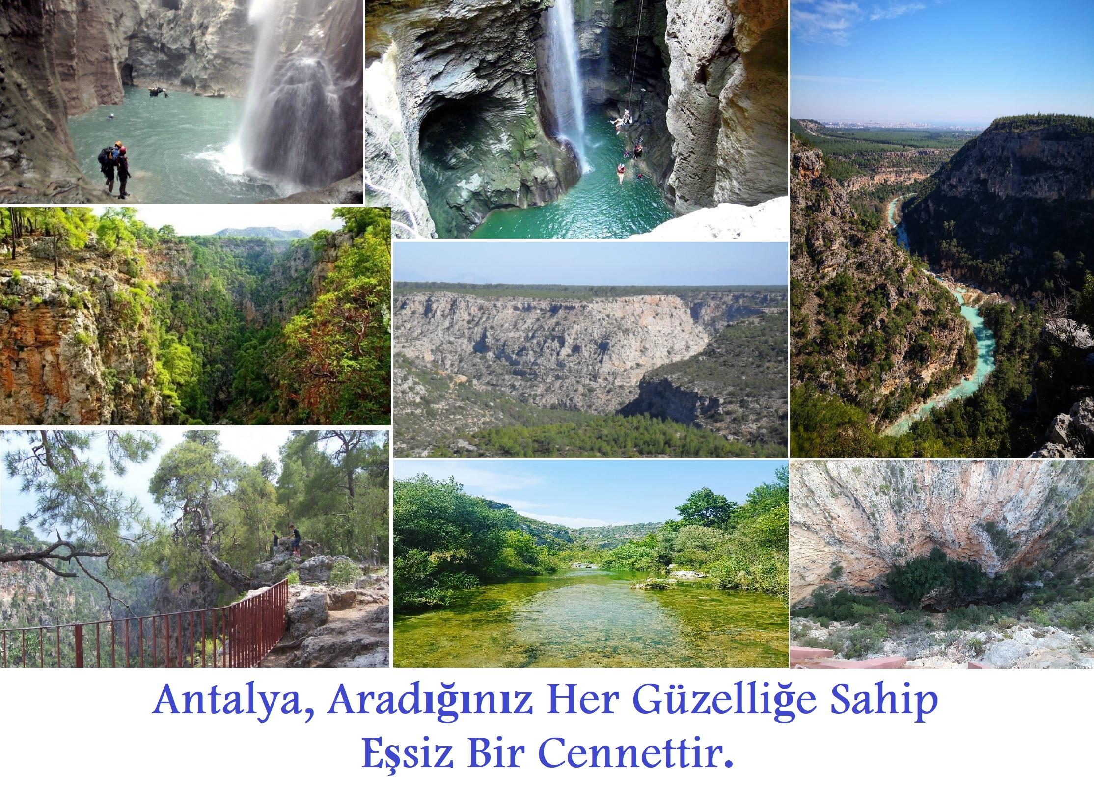 Güver Uçurumu ve Kanyonu / Antalya
