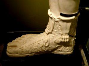 Hadrian'ın ayakları (Sagalassos Antik Kenti: Burdur Müzesi)