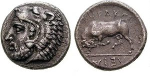 Herakleia Pontika Sikkesi MÖ 415-394 yılına tarihlenmiş en eski sikkelerden biridir.