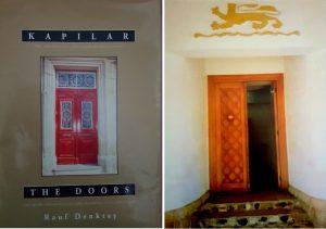 KKTC Cumhurbaşkanı Merhum Rauf Denktaş'ın Kıbrıs Kapıları kitabı.