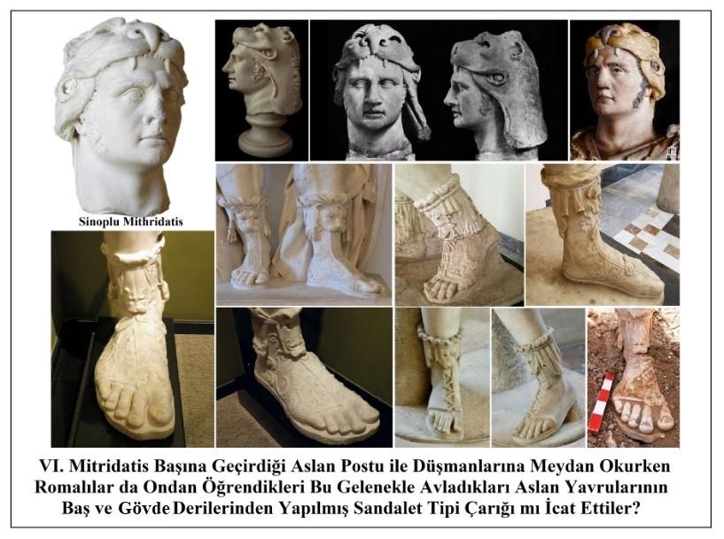 Antik Dönemin Önemli Simgelerinden Olan Aslan Figürü / VI. Mitridatis ve Romalılar