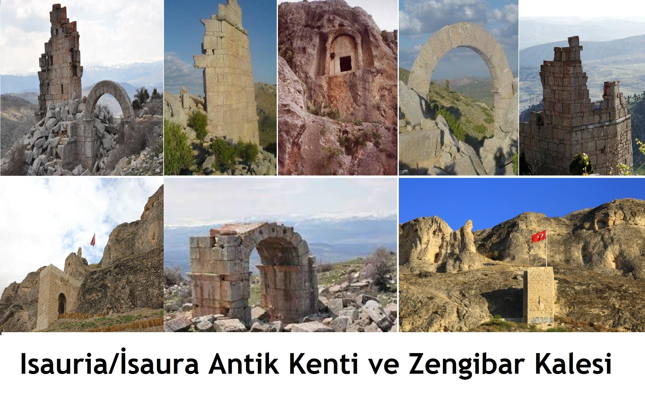 İsauria Antik Kenti / Zengibar Kalesi – Kilikya Uygarlığı