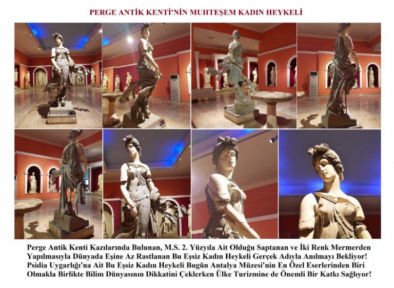 Perge Antik Kenti'nin Muhteşem Kadını Gerçek Adını Arıyor