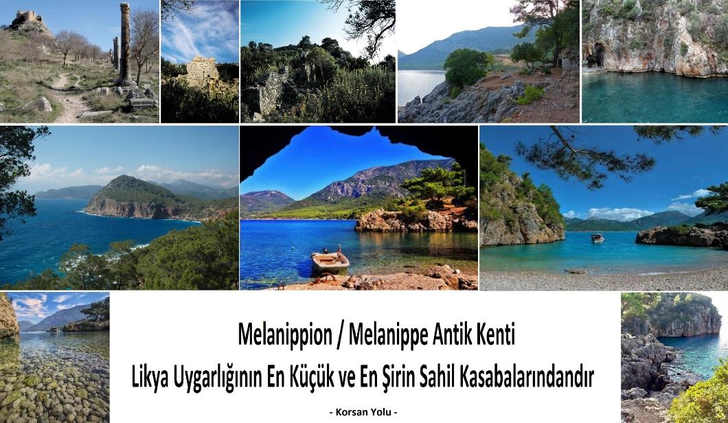 Melanippion / Melanippe Antik Kenti Likya'nın En Şirin Sahil Kasabası