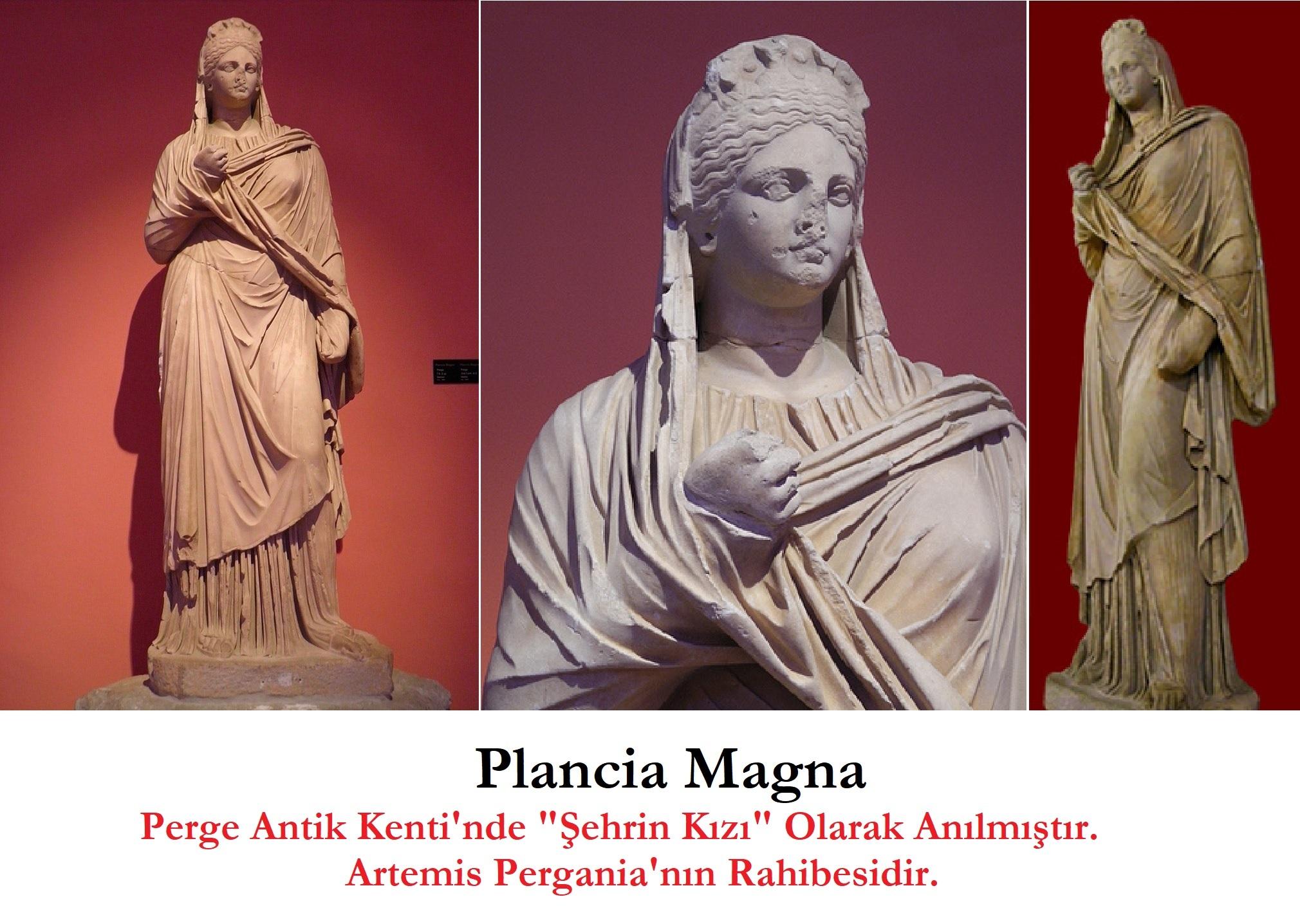 Plancia Magna – Perge'nin Kurucu Kadını