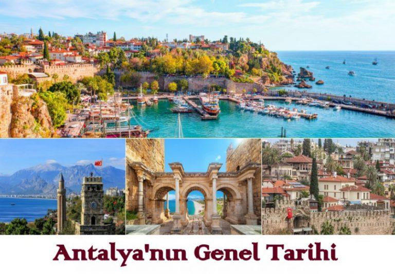 Antalya'nın Genel Tarihi