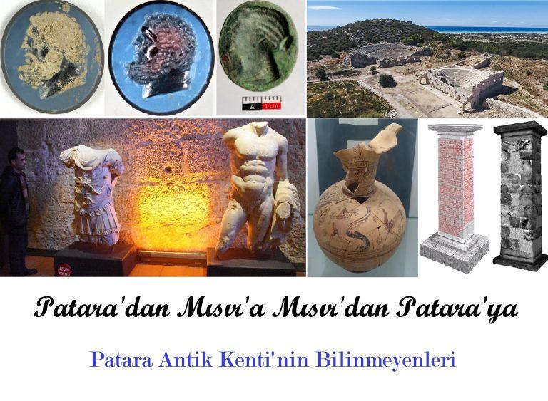 Patara'dan Mısır'a Mısır'dan Patara'ya
